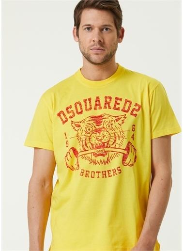 Dsquared2 Tişört Sarı